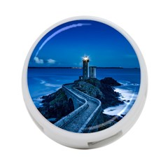 Plouzane France Lighthouse Landmark 4 Port Usb Hub (two Sides)
