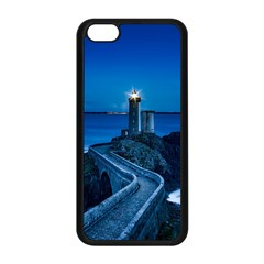 Plouzane France Lighthouse Landmark Apple Iphone 5c Seamless Case (black)
