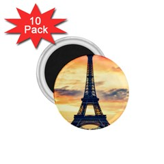 Eiffel Tower Paris France Landmark 1 75  Magnets (10 Pack)