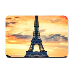 Eiffel Tower Paris France Landmark Small Doormat