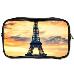 Eiffel Tower Paris France Landmark Toiletries Bags