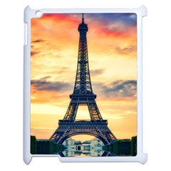 Eiffel Tower Paris France Landmark Apple Ipad 2 Case (white)