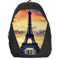 Eiffel Tower Paris France Landmark Backpack Bag