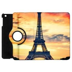 Eiffel Tower Paris France Landmark Apple Ipad Mini Flip 360 Case