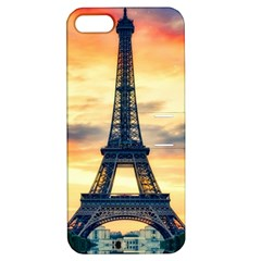 Eiffel Tower Paris France Landmark Apple Iphone 5 Hardshell Case With Stand