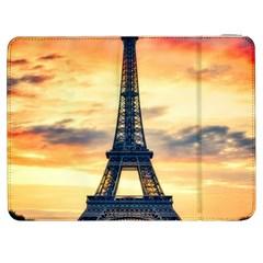 Eiffel Tower Paris France Landmark Samsung Galaxy Tab 7  P1000 Flip Case