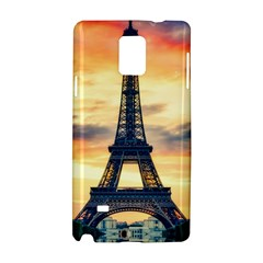 Eiffel Tower Paris France Landmark Samsung Galaxy Note 4 Hardshell Case