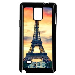 Eiffel Tower Paris France Landmark Samsung Galaxy Note 4 Case (black)