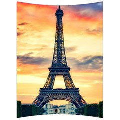 Eiffel Tower Paris France Landmark Back Support Cushion