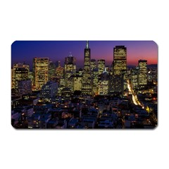 San Francisco California City Urban Magnet (rectangular)