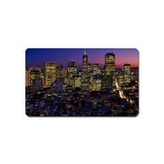 San Francisco California City Urban Magnet (name Card)