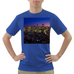 San Francisco California City Urban Dark T Shirt