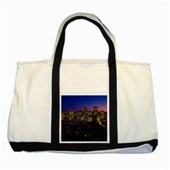 San Francisco California City Urban Two Tone Tote Bag