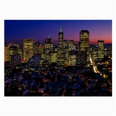 San Francisco California City Urban Large Glasses Cloth (2 Side)
