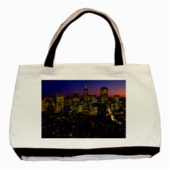 San Francisco California City Urban Basic Tote Bag (two Sides)