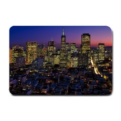 San Francisco California City Urban Small Doormat