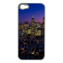 San Francisco California City Urban Apple Iphone 5 Case (silver)