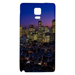 San Francisco California City Urban Galaxy Note 4 Back Case