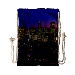 San Francisco California City Urban Drawstring Bag (small)