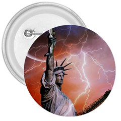 Statue Of Liberty New York 3  Buttons