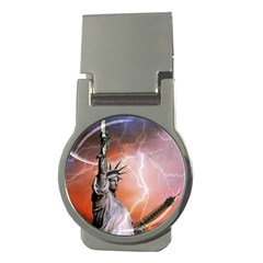 Statue Of Liberty New York Money Clips (round)