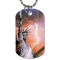 Statue Of Liberty New York Dog Tag (two Sides)