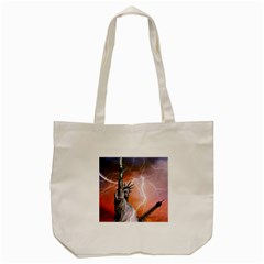 Statue Of Liberty New York Tote Bag (cream)