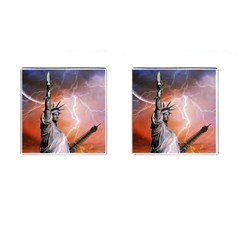 Statue Of Liberty New York Cufflinks (square)