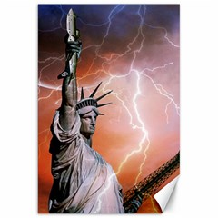 Statue Of Liberty New York Canvas 20  X 30