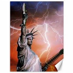 Statue Of Liberty New York Canvas 36  X 48