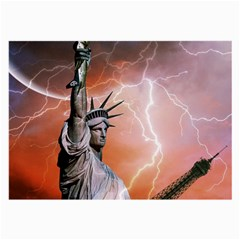 Statue Of Liberty New York Large Glasses Cloth