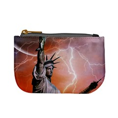 Statue Of Liberty New York Mini Coin Purses