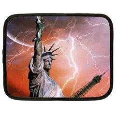 Statue Of Liberty New York Netbook Case (xl)