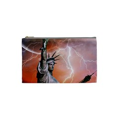Statue Of Liberty New York Cosmetic Bag (small)