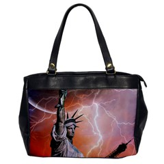 Statue Of Liberty New York Office Handbags