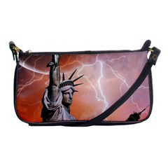 Statue Of Liberty New York Shoulder Clutch Bags