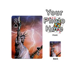 Statue Of Liberty New York Playing Cards 54 (mini)