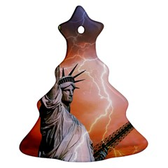 Statue Of Liberty New York Ornament (christmas Tree)