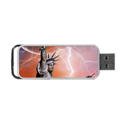 Statue Of Liberty New York Portable Usb Flash (one Side)