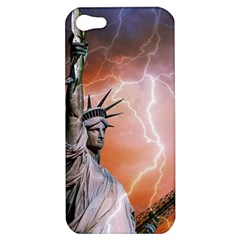 Statue Of Liberty New York Apple Iphone 5 Hardshell Case