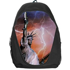 Statue Of Liberty New York Backpack Bag