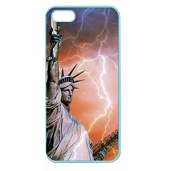 Statue Of Liberty New York Apple Seamless Iphone 5 Case (color)