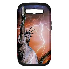 Statue Of Liberty New York Samsung Galaxy S Iii Hardshell Case (pc+silicone)