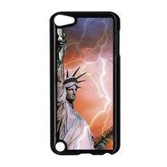 Statue Of Liberty New York Apple Ipod Touch 5 Case (black)