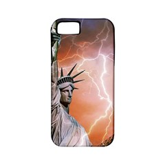 Statue Of Liberty New York Apple Iphone 5 Classic Hardshell Case (pc+silicone)