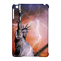 Statue Of Liberty New York Apple Ipad Mini Hardshell Case (compatible With Smart Cover)