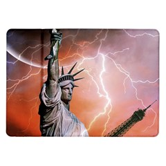 Statue Of Liberty New York Samsung Galaxy Tab 10 1  P7500 Flip Case