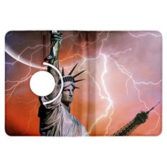 Statue Of Liberty New York Kindle Fire Hdx Flip 360 Case