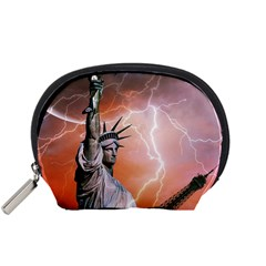 Statue Of Liberty New York Accessory Pouches (small)
