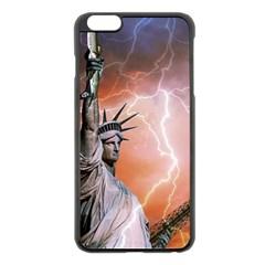 Statue Of Liberty New York Apple Iphone 6 Plus/6s Plus Black Enamel Case